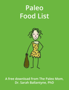Paleo Food List Cover