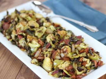 Guest Post by Lisa Bryan – Balsamic Bacon Brussels Sprouts