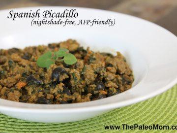 Spanish Picadillo (AIP-friendly)