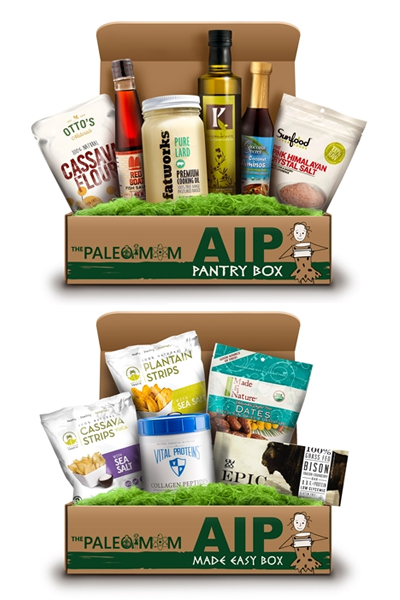 AIP Pantry and Snack Boxes