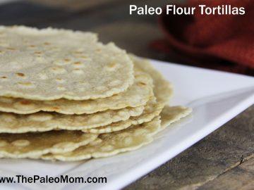 Paleo Flour Tortillas (AIP-friendly!)