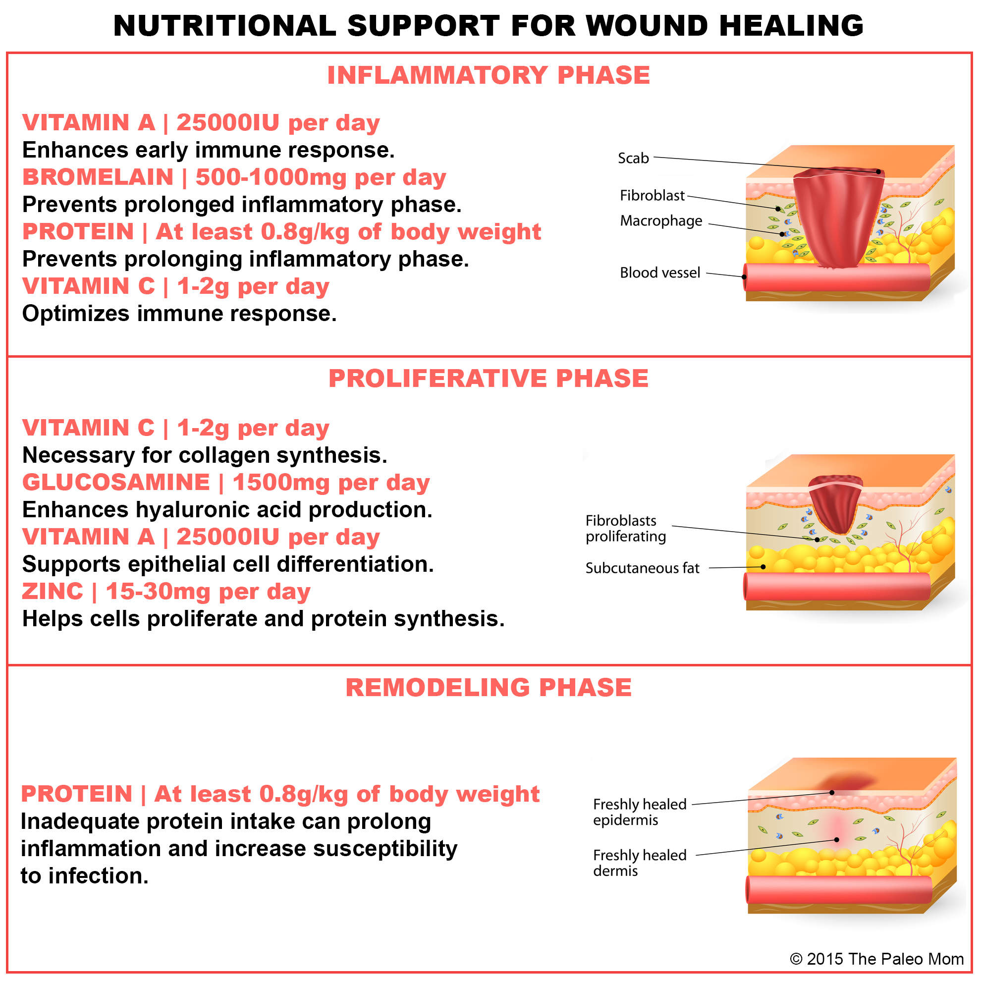 Nutritional Support For Injury And Wound Healing The