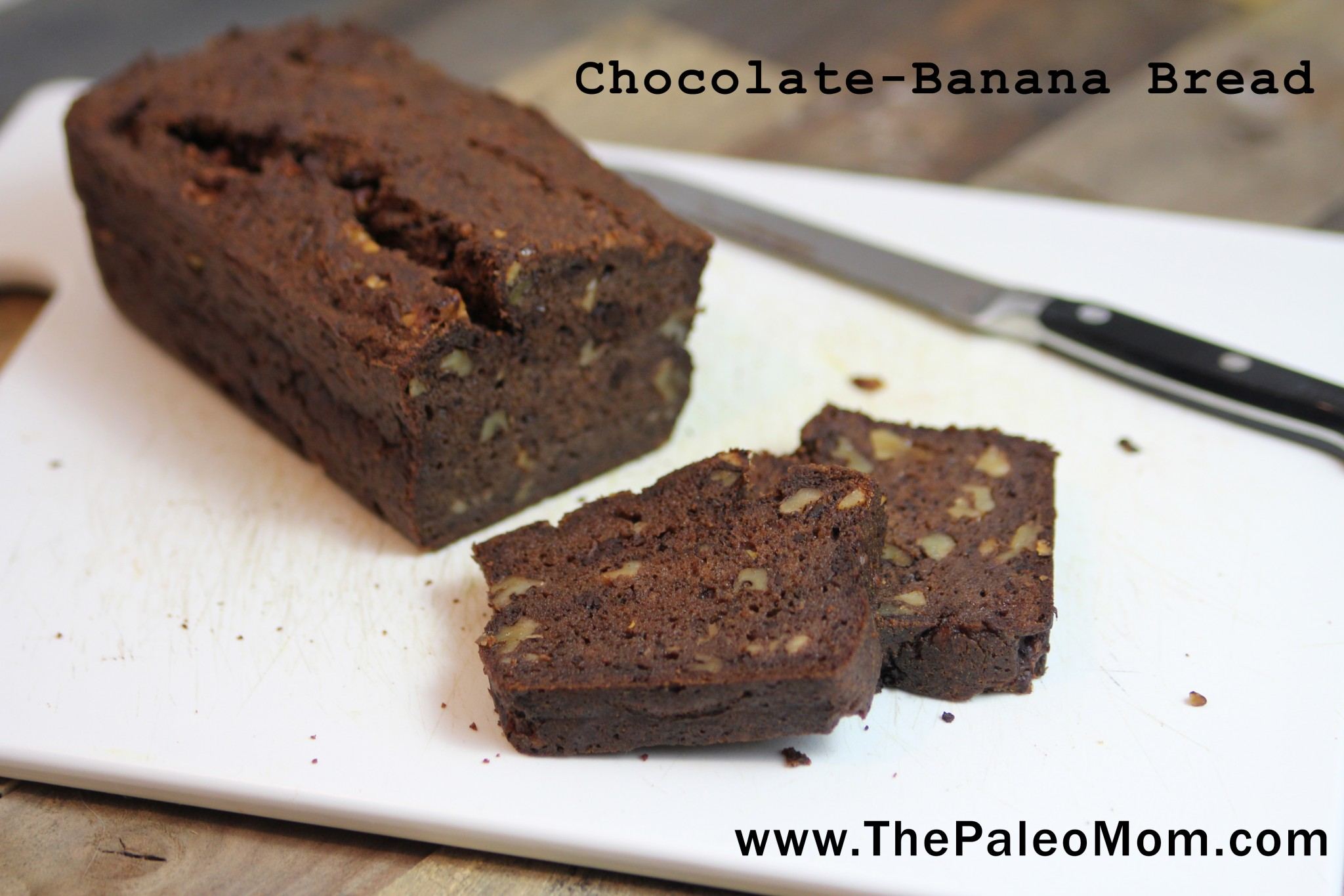 Chocolate Banana Bread (Egg-Free)