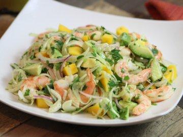 Shrimp, Avocado, Mango and Fennel Salad