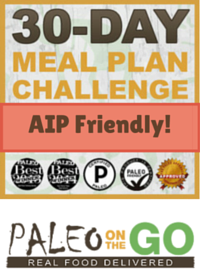 30 Day Meal Plan Challenge