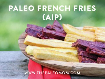 Paleo French Fries (AIP)