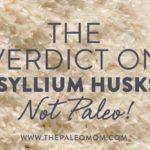 The Verdict on Psyllium Husks: Not Paleo!