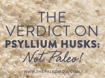 The Verdict on Psyllium Husks: Not Paleo!