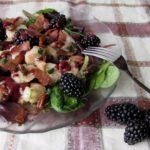 Creole Blackberry Shrimp Salad