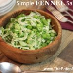 Simple Fennel Salad