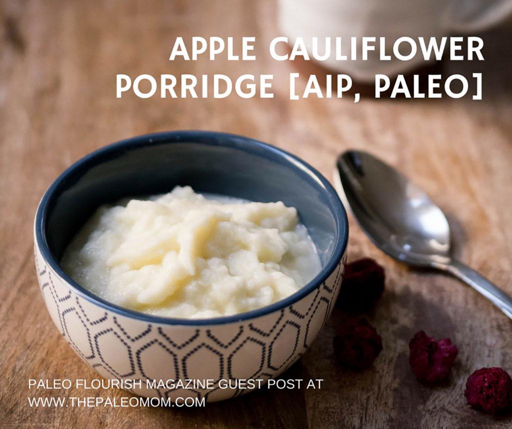 AIP Apple Cauliflower Porridge