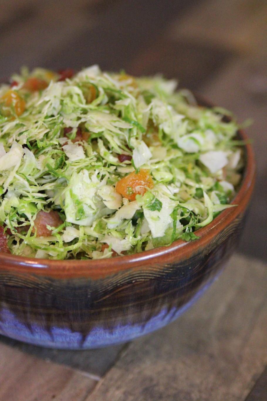 Shaved Brussels Salad