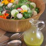 Green Salad with Italian Vinaigrette