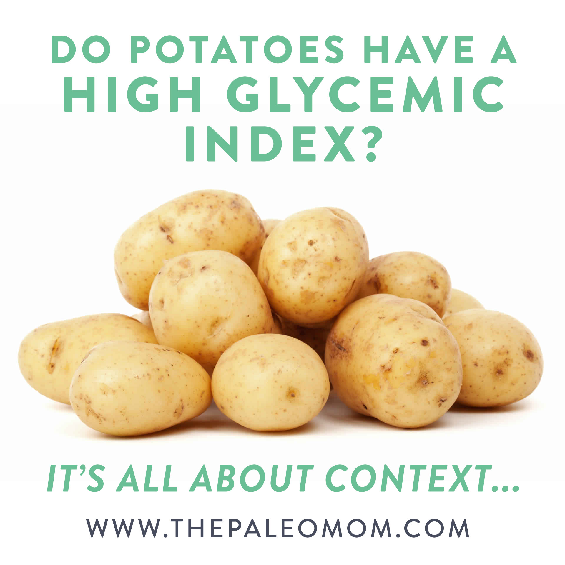 Why Do Potatoes Have a Higher Glycemic Index Than Sugar
