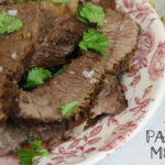 Instant Pot Balsamic Roast Beef