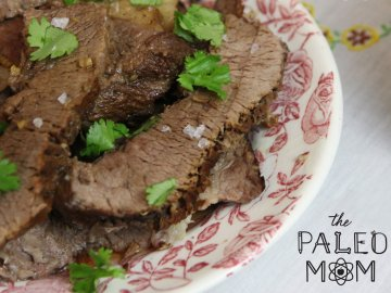 Balsamic Instant Pot Roast Beef