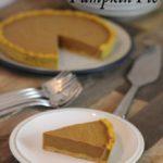 AIP Pumpkin Pie