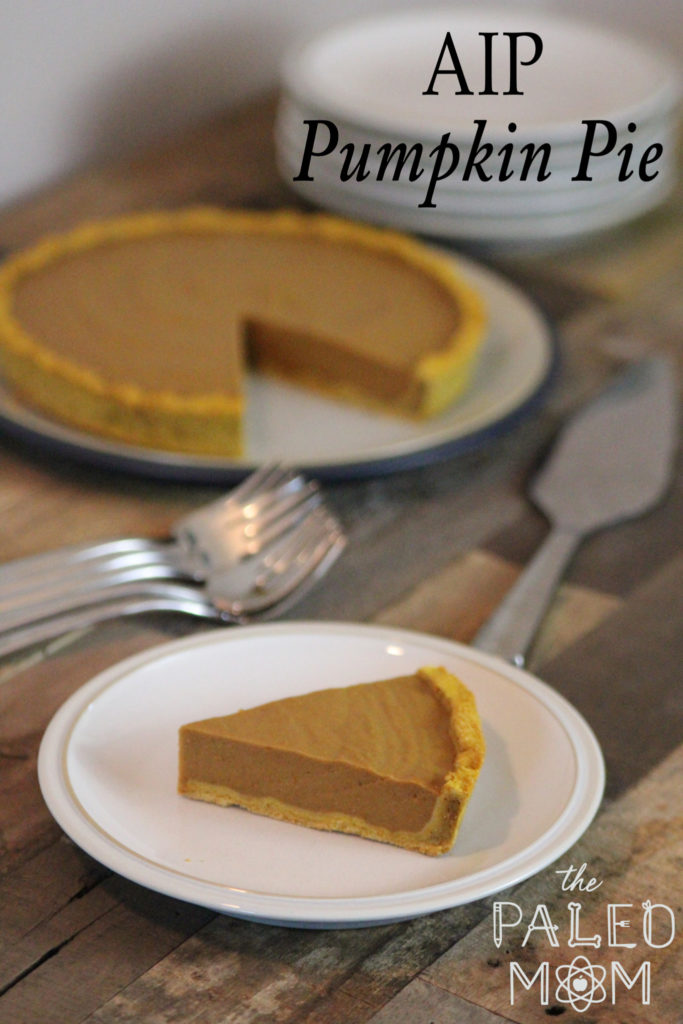 AIP Pumpkin Pie