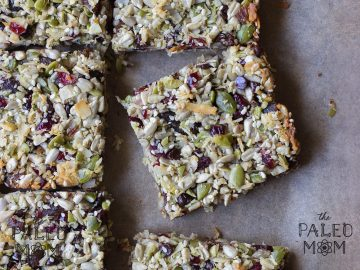 Chewy Nut Free Granola Bars