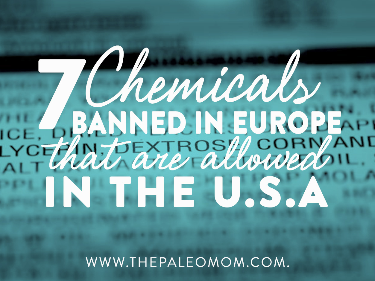 chemicals banned in europe