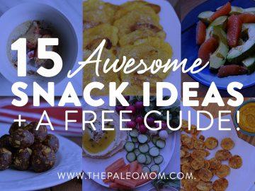 15 paleo snack ideas