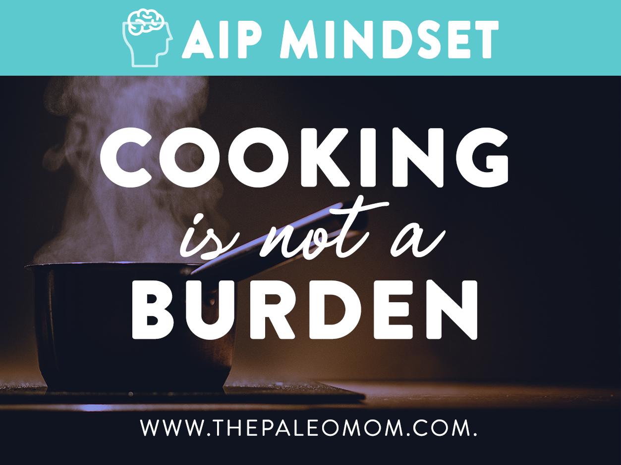 Cooking is not a burden