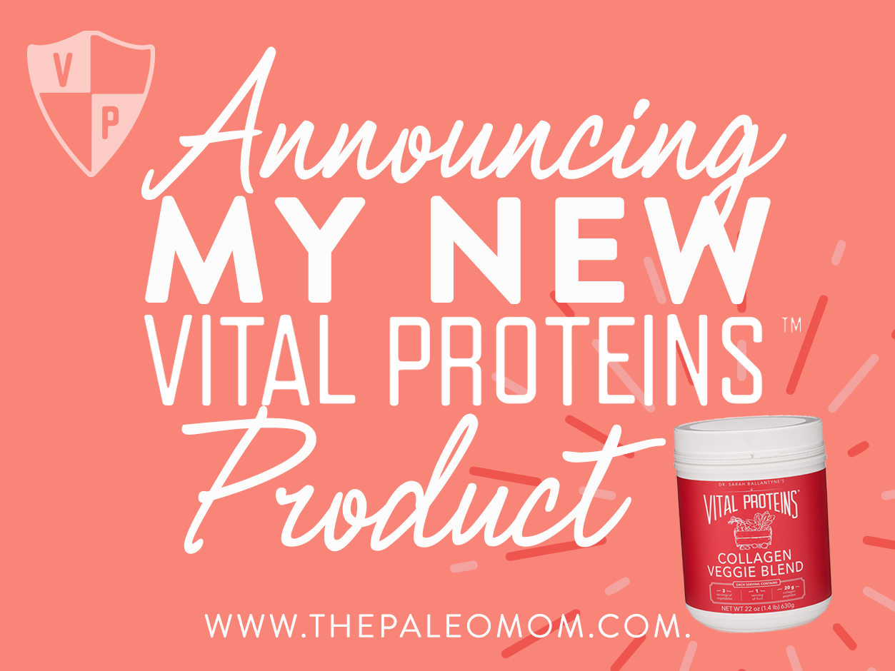 Announcing My NEW Vital Proteins Product
