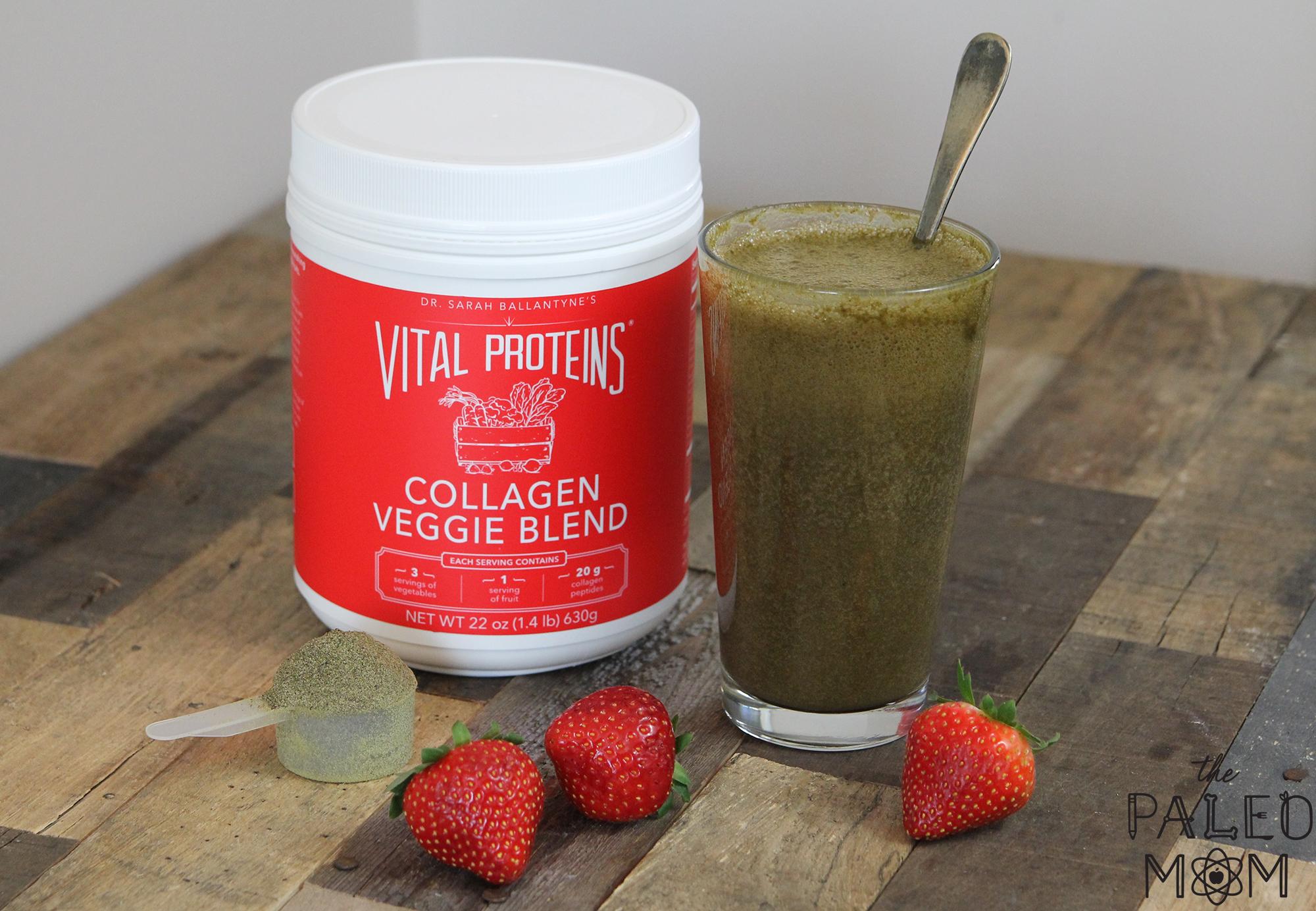 vital protein collagen veggie blend