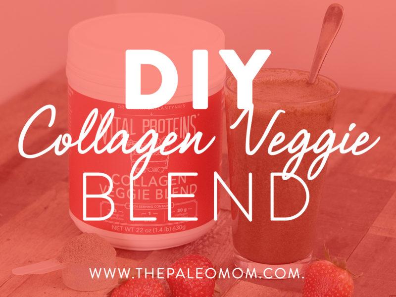 diy collagen veggie blend