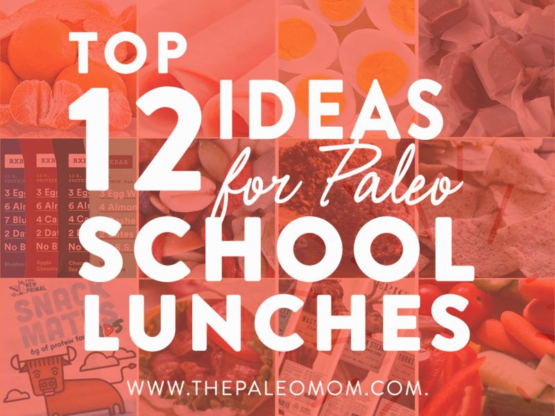 12 school lunches ideas