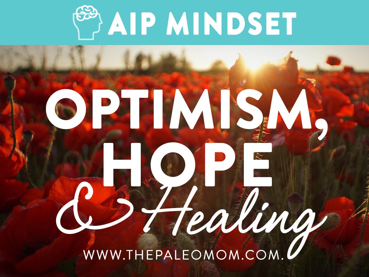 Optimism, hope, and healing