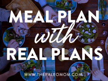 Meal Plan with Real Plans!