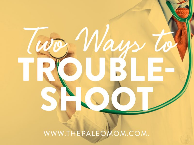 two ways to troubleshoot