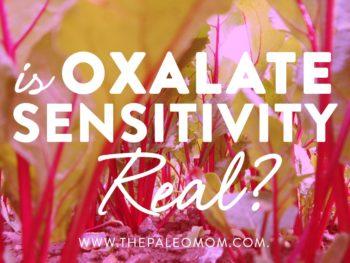 Is Oxalate Sensitivity Real