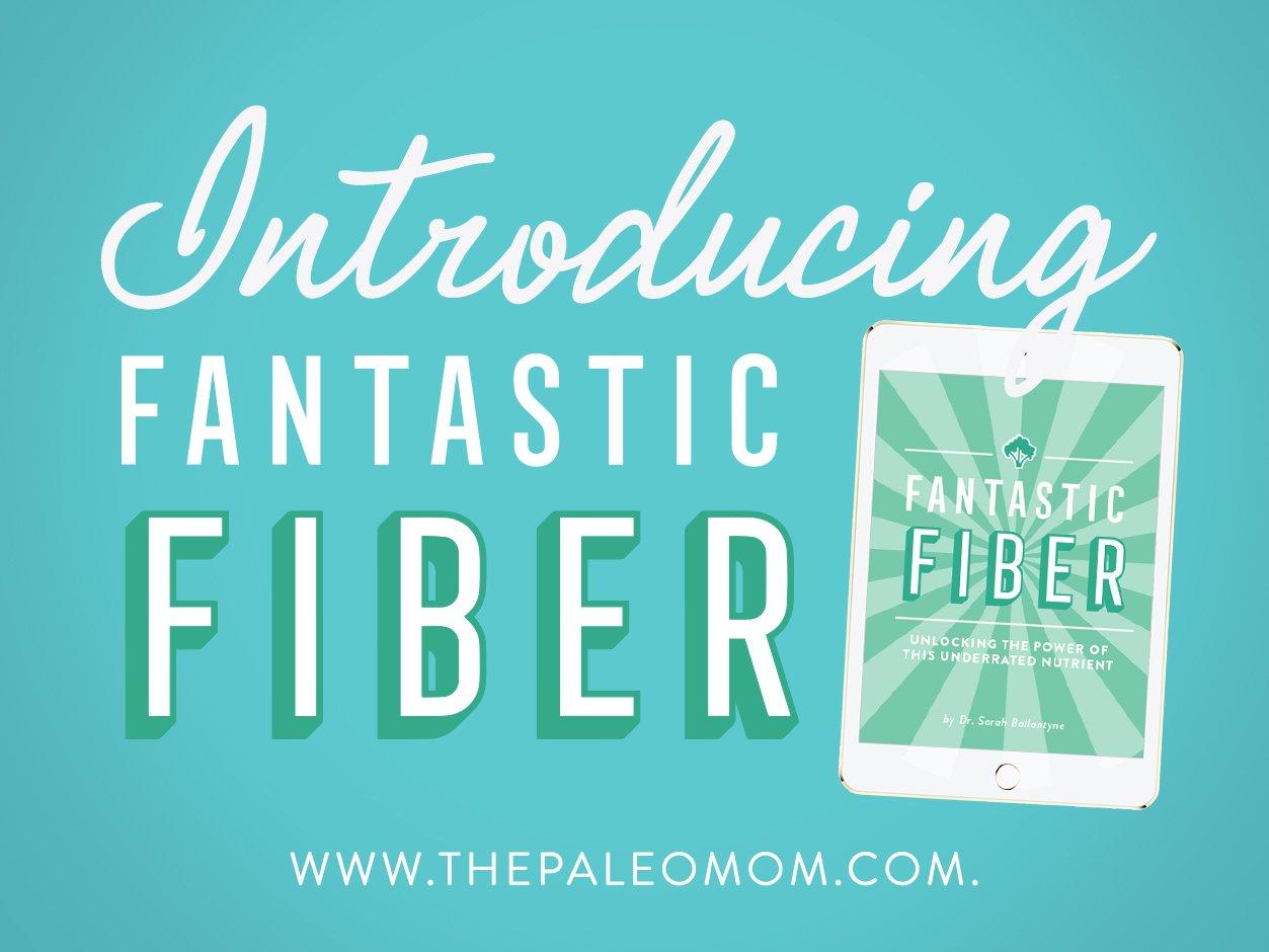 Introducing my newest e-book, Fantastic Fiber!
