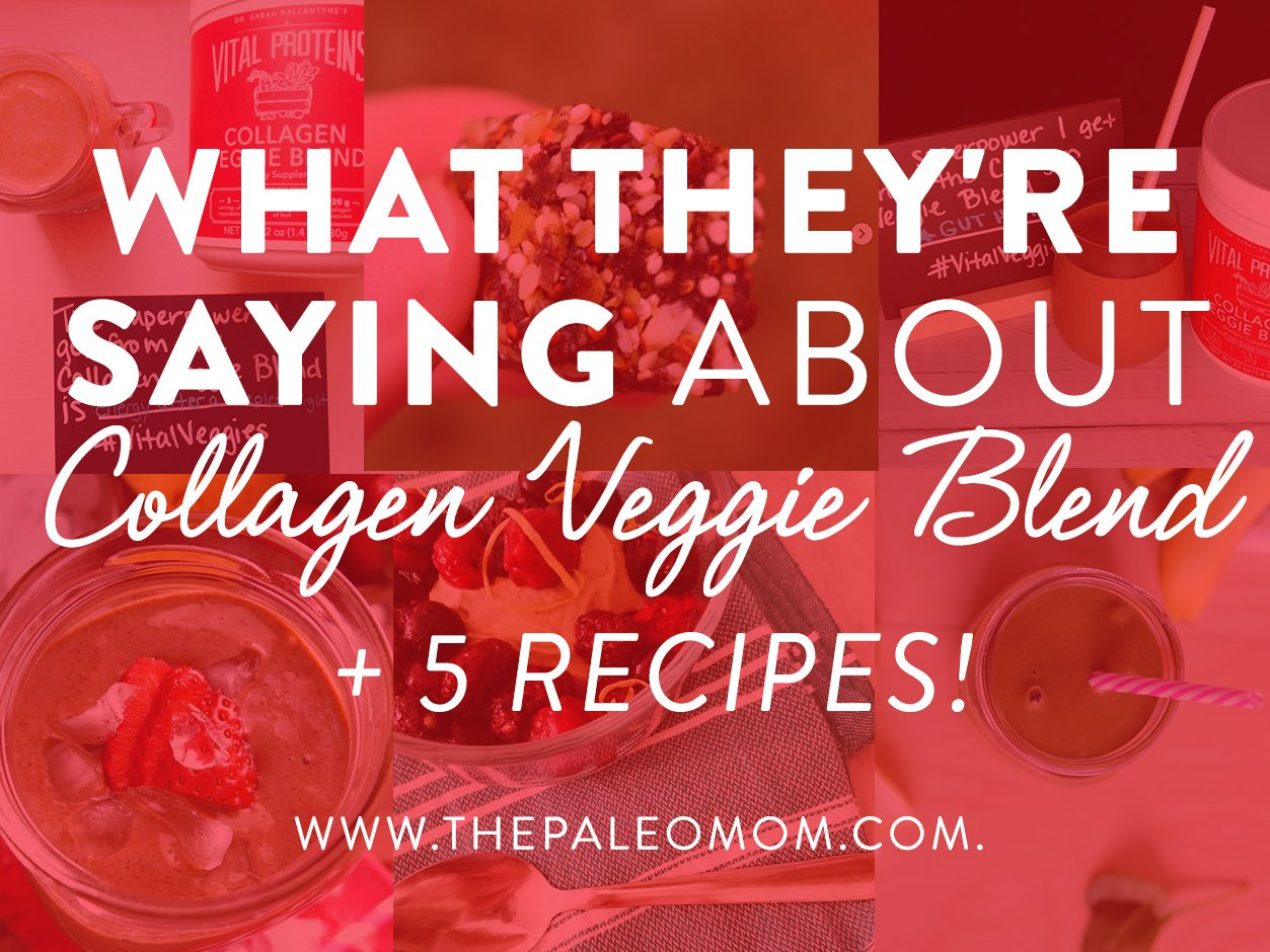 What they're saying about collagen veggie blend + 5 recipes