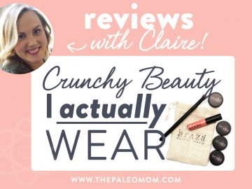 Crunchy Beauty I actually wear
