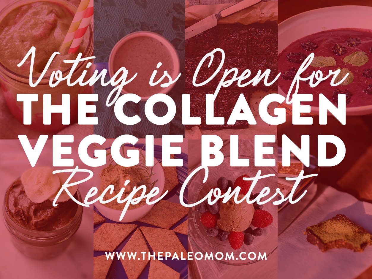 Voting is open for the collagen veggie blend recipe contest