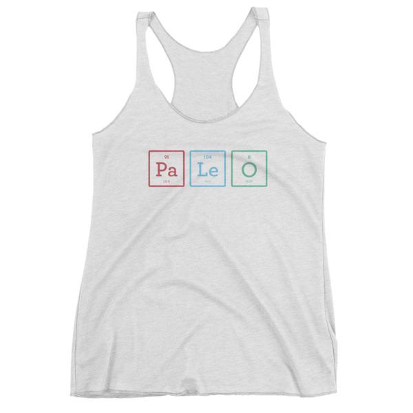 PaLeO Elements - Women's Racerback - White
