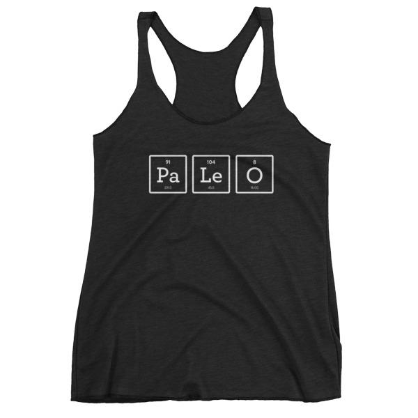 PaLeO Elements - Women's Racerback - Black