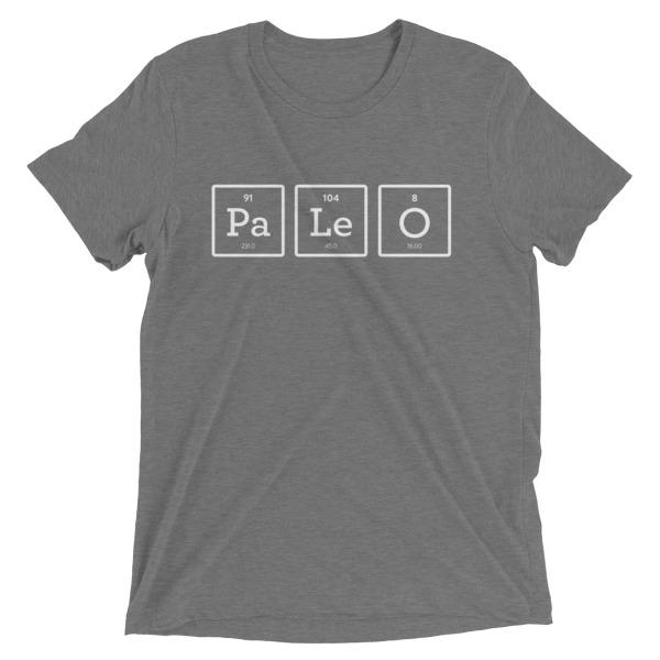 PaLeO Elements - Unisex T-Shirt- Grey