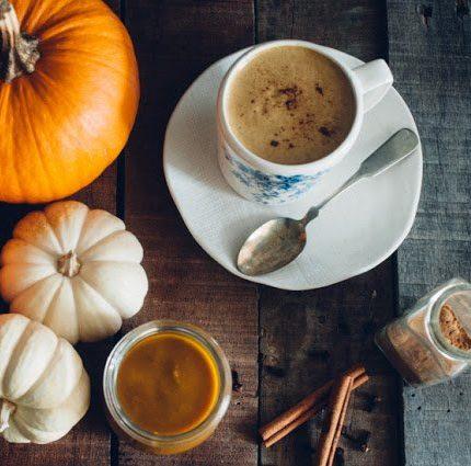 Spiced Pumpkin Tea Latte from Sweet Treats