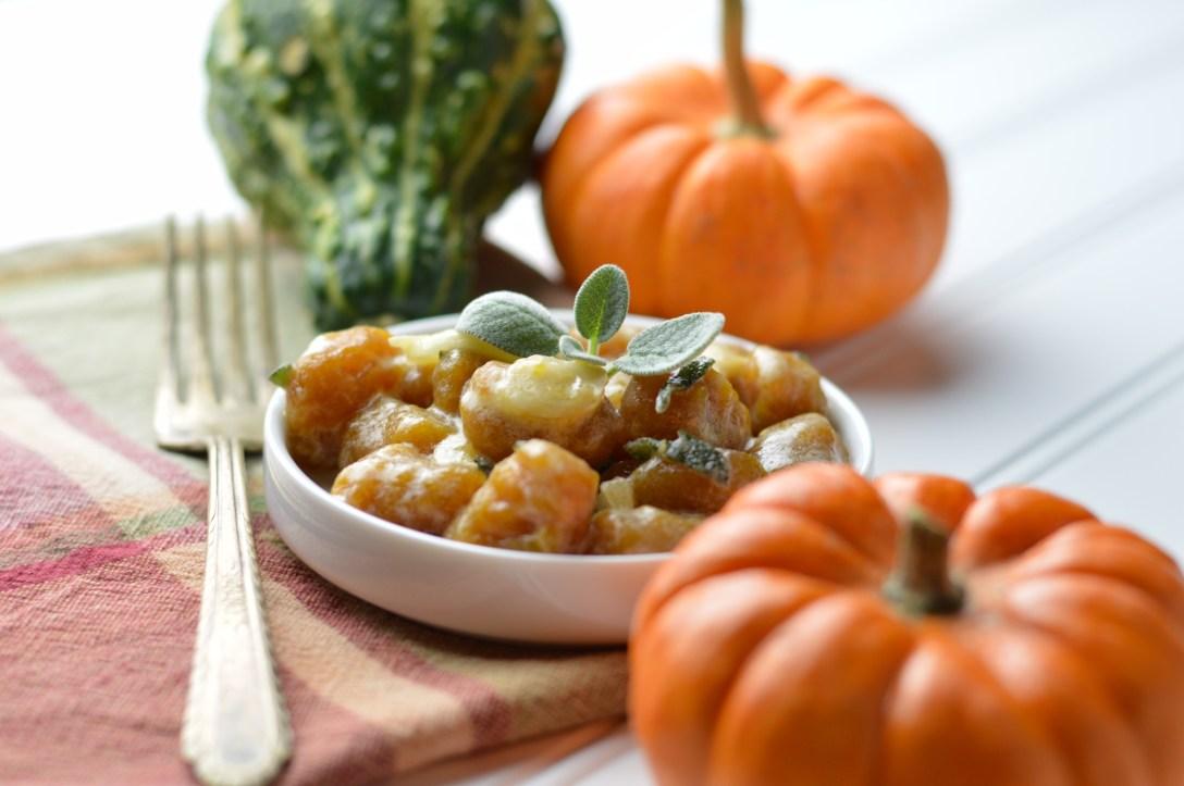 Pumpkin Gnocchi Lemon Sage Sauce from Wendi's AIP Kitchen