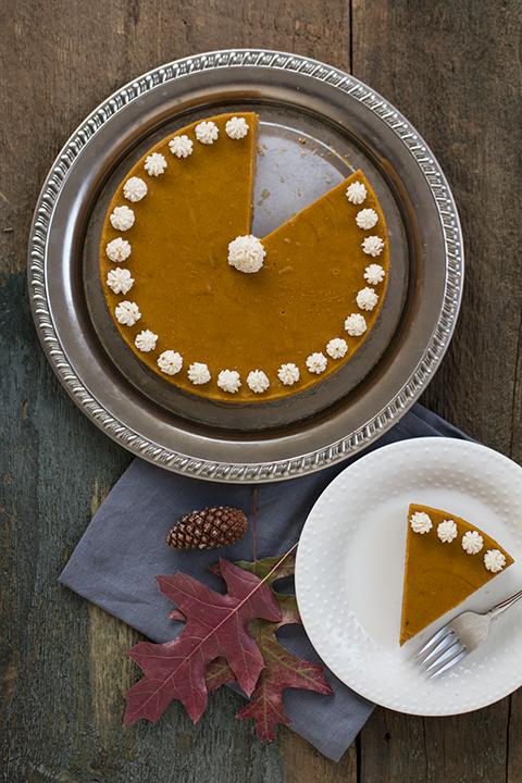 Pumpkin Spice Cake with Gingersnap Crust from Autoimmune Wellness