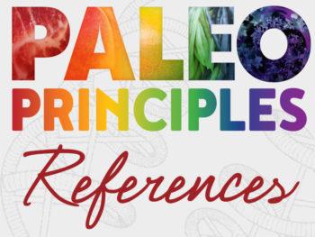 paleo principles references