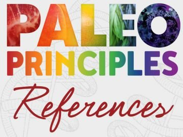 paleo principles references