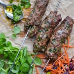 lamb and tarragon koftas