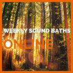 sound baths online