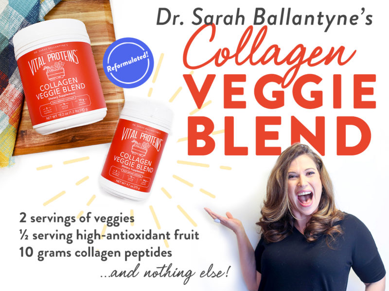 vital proteins veggie blend