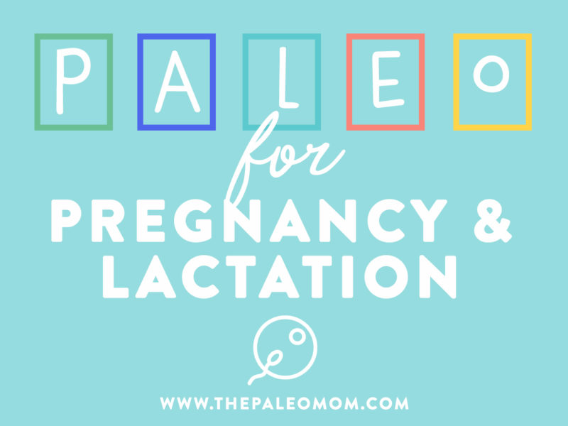 Paleo for Pregnancy and Lactation ~ The Paleo Mom